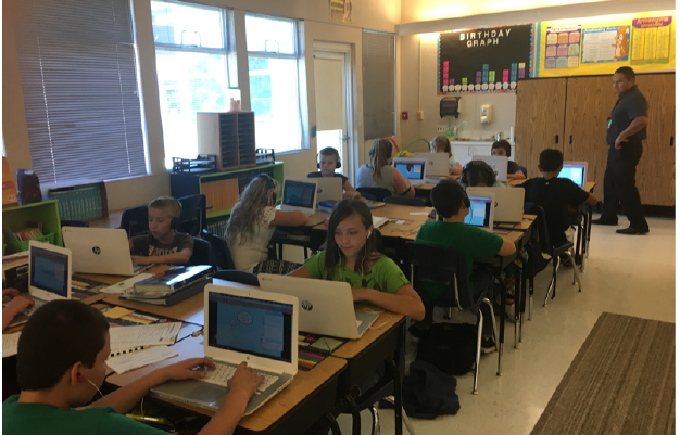 Digital Classroom projects at a Title I District