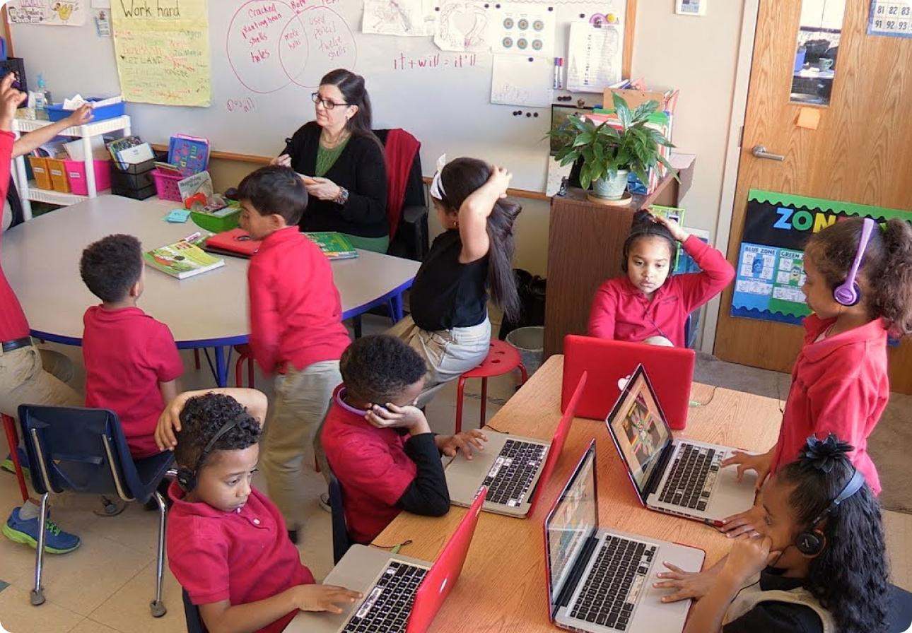 eSpark small group classroom